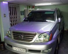 Bán Lexus GX 470 sản xuất năm 2006, màu bạc, nhập khẩu giá 1 tỷ 150 tr tại Tp.HCM