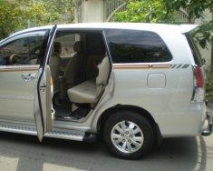 Cần bán gấp Toyota Innova 2.0G đời 2009, màu bạc như mới giá 400 triệu tại Tp.HCM