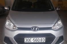 Hyundai I10 Số sàn. Nhập khẩu Ấn độ 2016 Mầu bạc. Tư nhân từ đầu. Mới chạy 5 vạn KM. giá 325 triệu tại Hà Nội