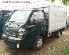 Chuyên bán xe tải Thaco Kia K200 E4 kim phun điện tử, tubo tăng áp tải 990 Kg đủ các loại thùng giá 341 triệu tại Hà Nội