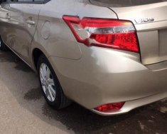 Cần bán Toyota Vios 1.5E đời 2017, màu vàng giá 515 triệu tại Hải Dương