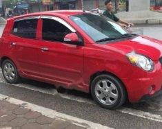 Cần bán gấp Kia Morning LX 1.0 AT sản xuất năm 2008, màu đỏ, nhập khẩu số tự động giá 230 triệu tại Hà Nội