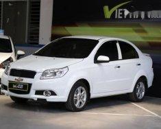 Cần bán lại xe Chevrolet Aveo LTZ 1.4AT năm sản xuất 2017, màu trắng giá 438 triệu tại Tp.HCM