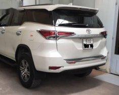 Cần bán gấp Toyota Fortuner 2017, màu trắng ít sử dụng giá 1 tỷ 80 tr tại Tp.HCM