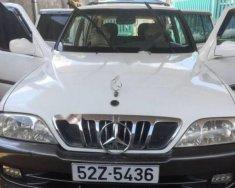 Cần bán lại xe Ssangyong Musso 2.3 2003, màu trắng, nhập khẩu nguyên chiếc xe gia đình giá 162 triệu tại Kon Tum