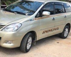 Cần bán lại xe Toyota Innova 2008, màu vàng, xe gia đình, giá tốt giá 377 triệu tại BR-Vũng Tàu