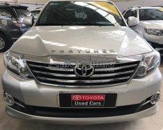Bán Toyota Fortuner V(4x2) đời 2016, màu bạc giá 930 triệu tại Tp.HCM