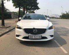 Chính chủ bán Mazda 6 2.5L Premium năm sản xuất 2017, màu trắng giá 1 tỷ 35 tr tại Hà Nội