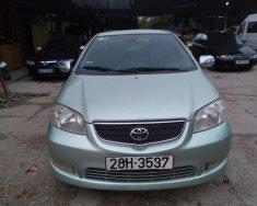 Cần bán xe Toyota Vios G đăng ký lần đầu 2004, màu xanh, xe gia đình, giá chỉ 185triệu giá 185 triệu tại Hà Nội