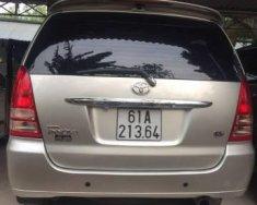 Cần bán lại xe Toyota Innova năm sản xuất 2007, màu bạc chính chủ giá 350 triệu tại Bình Dương