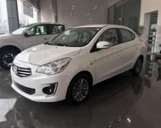 Bán Mitsubishi Attrage CVT sản xuất 2018, màu trắng, nhập khẩu giá 502 triệu tại Hà Nội