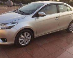 Chính chủ bán ô tô Toyota Vios E 1.5MT đời 2015, màu bạc giá 450 triệu tại Hà Nội