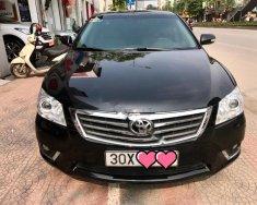 Bán Toyota Camry 2.4G sản xuất năm 2010, màu đen giá 630 triệu tại Hà Nội