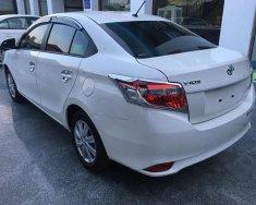 Toyota Vios đời 2018 màu trắng, 170 triệu lăn bánh giá 498 triệu tại Trà Vinh