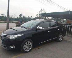 Chính chủ bán xe Toyota Vios 1.5E sản xuất 2015, màu đen giá 465 triệu tại Thái Bình