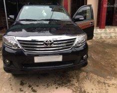 Cần bán gấp xe Toyota Fortuner đời 2012, màu đen, giá 670tr giá 670 triệu tại Hà Nội