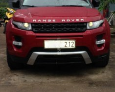 Bán ô tô LandRover Evoque sản xuất 2012, màu đỏ, nhập khẩu giá 1 tỷ 650 tr tại Quảng Bình