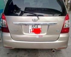 Cần bán xe Toyota Innova J đời 2008, màu vàng giá 305 triệu tại Cần Thơ