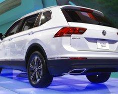 Bán Volkswagen Tiguan sản xuất năm 2016, màu trắng, nhập khẩu nguyên chiếc giá 1 tỷ 290 tr tại Tp.HCM