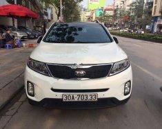 Bán ô tô Kia Sorento DATH đời 2015, màu trắng   giá 830 triệu tại Hà Nội