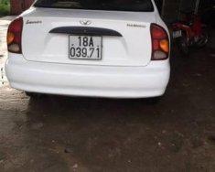 Cần bán gấp Daewoo Lanos năm sản xuất 2002, màu trắng, nhập khẩu giá 90 triệu tại Bắc Giang