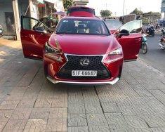 Bán ô tô Lexus NX sản xuất năm 2015, màu đỏ, nhập khẩu nguyên chiếc giá 2 tỷ 350 tr tại Tp.HCM