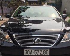 Bán Lexus LS 4.6 AT năm 2008, màu đen, nhập khẩu nguyên chiếc chính chủ giá 1 tỷ 360 tr tại Hà Nội