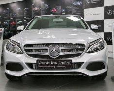 Bán xe Mercedes C200 sản xuất 2017, màu trắng giá 1 tỷ 389 tr tại Tp.HCM