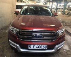 Bán xe Ford Everest năm sản xuất 2016, màu đỏ giá 1 tỷ 170 tr tại Tp.HCM