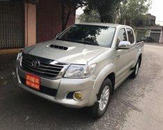 Bán xe Toyota Hilux 3.0G 4x4 MT sản xuất năm 2013, màu bạc, nhập khẩu Thái giá 530 triệu tại Hà Nội