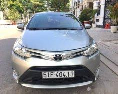 Cần bán lại xe Toyota Vios 1.5MT sản xuất 2016, màu bạc xe gia đình giá 479 triệu tại Tp.HCM