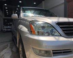 Bán Lexus GX 470 năm sản xuất 2008, màu bạc, nhập khẩu giá 1 tỷ 350 tr tại Tp.HCM