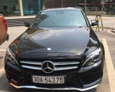 Bán xe Mercedes C250 AMG SX 2014, màu đen giá 1 tỷ 400 tr tại Hà Nội