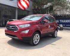 Bán xe Ford EcoSport Titanium 1.5L năm sản xuất 2018, màu đỏ, hỗ trợ trả góp 90% giá 648 triệu tại Hà Nội