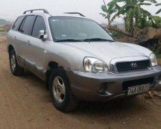 Cần bán lại xe Hyundai Santa Fe đời 2003, màu bạc, nhập khẩu, giá 231tr giá 231 triệu tại Bắc Ninh
