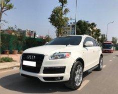 Bán ô tô Audi Q7 S-line 3.6 AT 2009, màu trắng, xe nhập giá 1 tỷ 99 tr tại Hà Nội