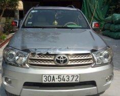 Cần bán Toyota Fortuner 2.5G đời 2010, màu bạc, 620tr giá 620 triệu tại Hà Nội