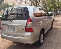 Cần bán lại xe Toyota Innova 2.0G năm 2013, màu bạc giá cạnh tranh giá 595 triệu tại Hà Nội