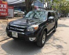 Cần bán gấp Ford Ranger XLT đời 2009, màu đen số sàn, giá 345tr giá 345 triệu tại Hà Nội