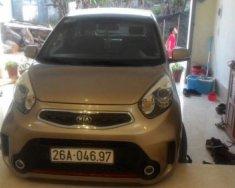 Bán xe Kia Morning 1.25 AT sản xuất 2016, màu vàng   giá 355 triệu tại Sơn La