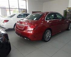 Cần bán Mercedes C300 AMG sản xuất 2018, màu đỏ giá 1 tỷ 949 tr tại Hà Nội