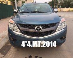 Bán Mazda BT50 2.2L, 2 cầu điện, nhập Thái Lan, SX: cuối 2014, số sàn, màu xanh giá 485 triệu tại Hà Nội