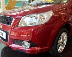 Cần bán Chevrolet Aveo đời 2018, màu đỏ, giá cạnh tranh giá 495 triệu tại Tp.HCM