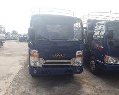 Bán xe tải Jac 3 tấn 5 cabin isuzu, thùng bạt, màu bạc giá cạnh tranh giá 410 triệu tại Tp.HCM