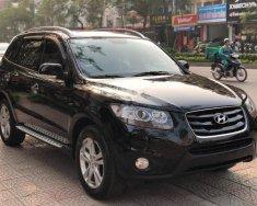 Bán xe Hyundai Santa Fe SLX 2010, màu đen, xe nhập giá 720 triệu tại Hà Nội