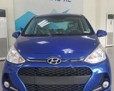 Bán ô tô Hyundai Grand i10 1.2 AT sản xuất năm 2018, màu xanh lam giá 395 triệu tại Hà Nội