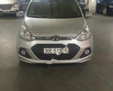 Cần bán xe Hyundai Grand i10 1.2 AT sản xuất 2014, màu bạc, nhập khẩu giá 360 triệu tại Hà Nội