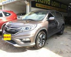 Cần bán Honda CR V 2.4AT sản xuất năm 2017, màu nâu giá 1 tỷ 25 tr tại Hà Nội