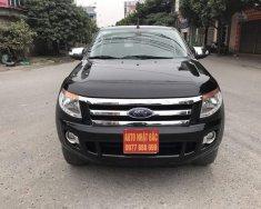 Bán xe Ford Ranger XLT 2.2 màu đen nhập khẩu Thái Lan 2013, đăng ký 2014, máy dầu, 2 cầu, số sàn giá 530 triệu tại Hà Nội