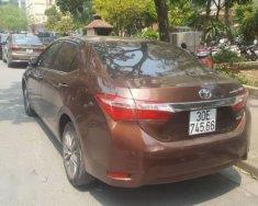 Bán Toyota Corolla altis đời 2017, màu nâu   giá 760 triệu tại Hà Nội